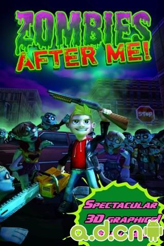 殭屍來也 Zombies After Me! v1.0.8-Android益智休闲類遊戲下載