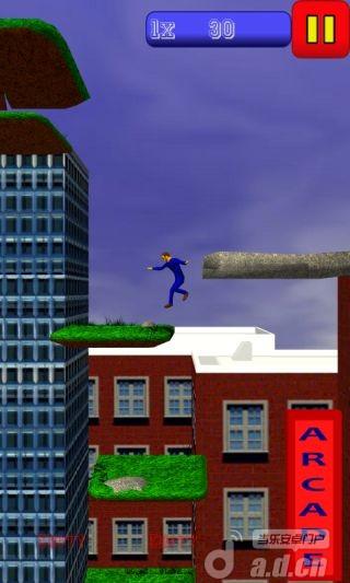 瘋狂蹦極3D Jump v1.0-Android益智休闲免費遊戲下載