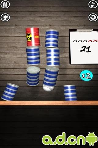 砸罐子 Tin Shot v1.2.34-Android益智休闲類遊戲下載