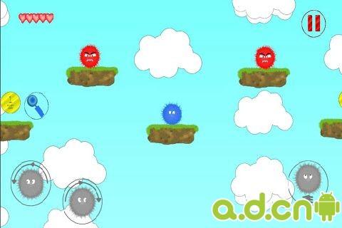 毛球英雄 Fuzzy hero v1.0.4-Android益智休闲免費遊戲下載