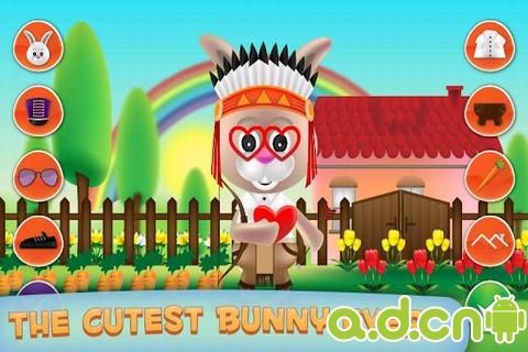 裝扮小兔 Bunny Dress Up v2.0-Android益智休闲免費遊戲下載
