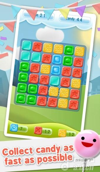 糖果飛濺 Candy Splash v1.01-Android益智休闲免費遊戲下載