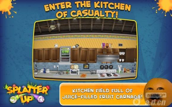 煩人的橘子:飛起來吧! Annoying Orange: Splatter Up! v1.0.3-Android益智休闲類遊戲下載
