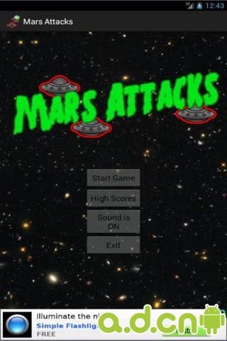 火星的襲擊 v1.6,Mars Attacks Free
