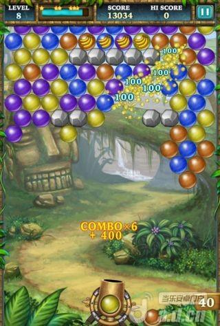 泡泡世界豪華版 Bubble World Deluxe v1.7-Android益智休闲免費遊戲下載