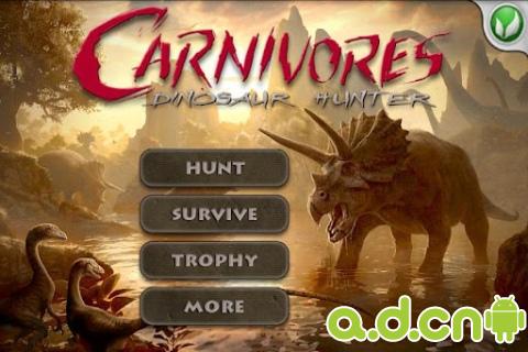 屠龍獵手高清版 v1.4.7,Carnivores: Dinosaur Hunter HD