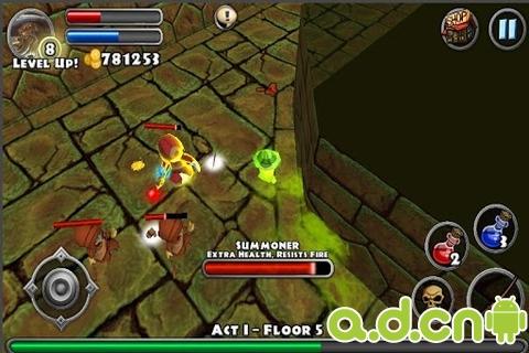 勇闖地下城 Dungeon Quest v1.3.0-Android角色扮演免費遊戲下載