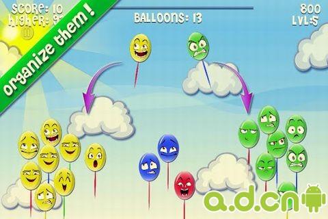 粉碎氣球 Crusher Balloons v6-Android益智休闲免費遊戲下載