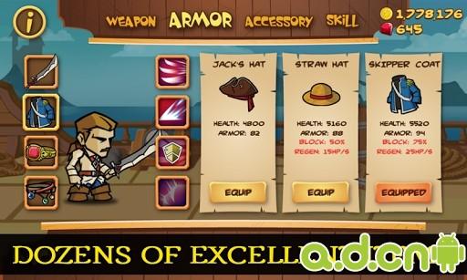神秘海盜 Myth of Pirates v1.0.7-Android策略塔防免費遊戲下載