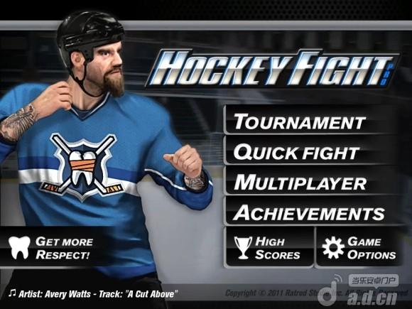 冰球格鬥 修改版 Hockey Fight v1.6-Android动作游戏免費遊戲下載