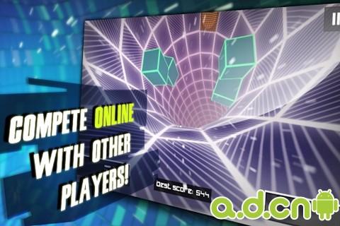 極速隧道3D SpeedX 3D v1.9-Android竞速游戏免費遊戲下載