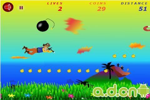 飛天海盜 Flying Pirate v1.0-Android益智休闲免費遊戲下載