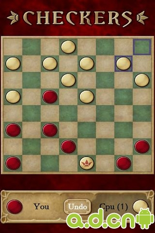 國際跳棋 精簡版 Checkers Free v1.33-Android棋牌游戏類遊戲下載