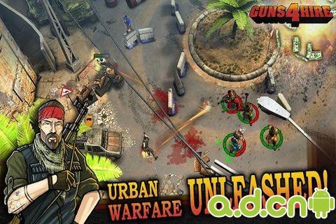 4人傭兵團(含資料包) v1.4.10,Guns 4 Hire,Android 版APK下載_Android 遊戲免費下載