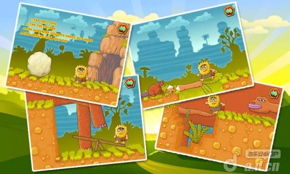 憤怒的野蠻人 Wrath Of Savage v1.0.5-Android益智休闲免費遊戲下載