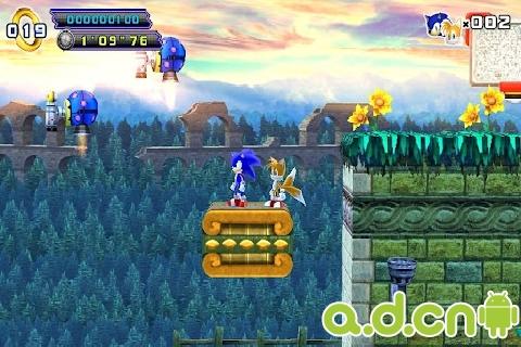音速小子索尼克4:第二章 Sonic 4 Episode II v1.4-Android益智休闲免費遊戲下載