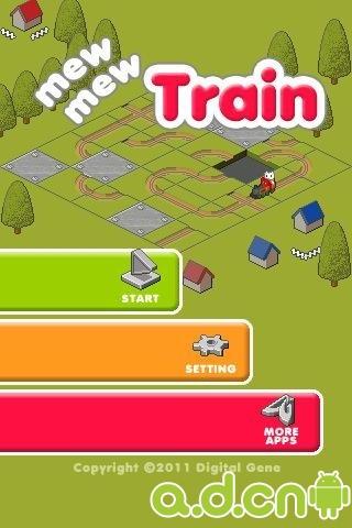 貓貓火車 mew mew Train v2.0-Android益智休闲免費遊戲下載