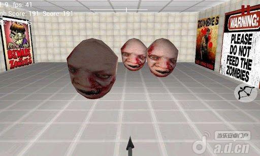 射擊殭屍 Zombie Archery 3D v1.4-Android益智休闲遊戲下載