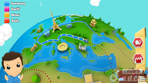 地理競賽遊戲3D Geography Quiz 3D v1.3-Android益智休闲免費遊戲下載