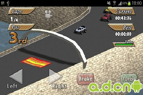 小小的賽車 精簡版 Tiny Little Racing Demo v1.32-Android竞速游戏免費遊戲下載