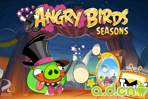 憤怒鳥 季節版 v3.3.0,Angry Birds Seasons