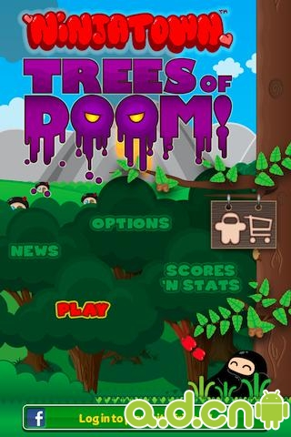 忍者小鎮:毀滅之樹 Ninjatown: Trees of Doom!  v2.4.0-Android益智休闲免費遊戲下載