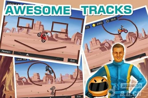 極限飛車 Top Bike v1.30-Android益智休闲免費遊戲下載