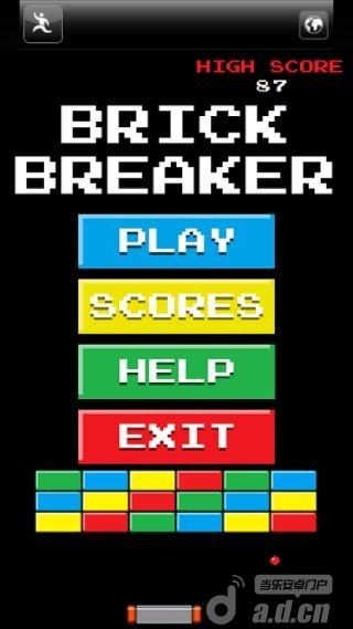 街機打磚塊 BrickBreaker Arcade v1.2-Android益智休闲類遊戲下載