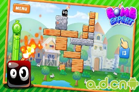 炸彈專家 v1.0.9,Bomb Destroyer-Android益智休闲遊戲下載
