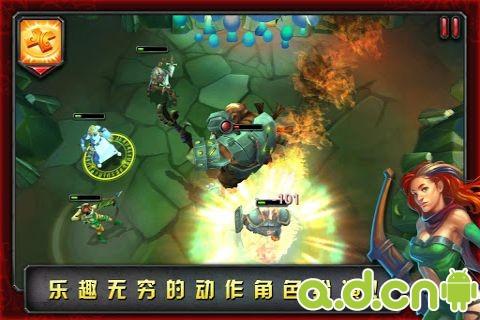 命運英雄傳 中文版 HEROES OF DESTINY v2.0.0-Android角色扮演免費遊戲下載
