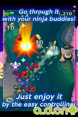 LINE忍者先鋒 LINE Ninja Strikers v1.3.5-Android益智休闲類遊戲下載