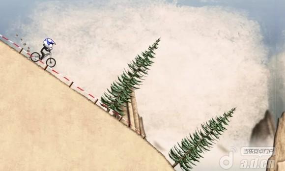 火柴人山地飆車 Stickman Downhill v1.7-Android益智休闲免費遊戲下載