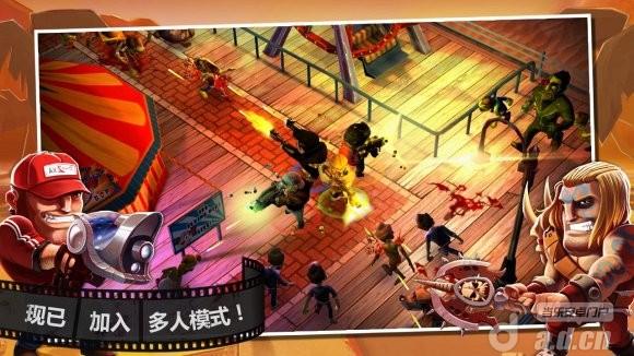 殭屍之林免驗證離線版(含數據包) Zombiewood v1.5.0-Android射击游戏免費遊戲下載