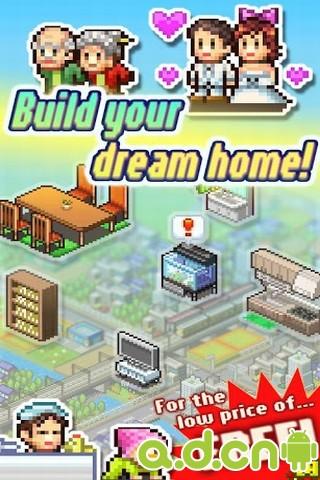 住宅夢物語英文版Dream House Days v1.1.6-Android模拟经营免費遊戲下載
