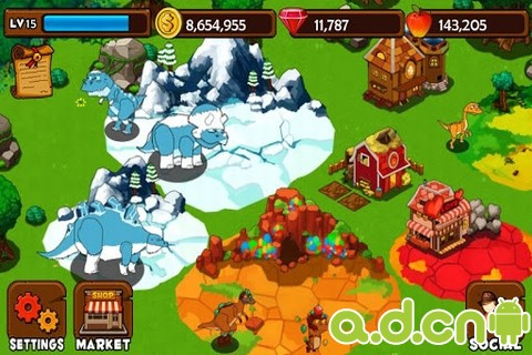 恐龍島 v1.0.0,Dino Island