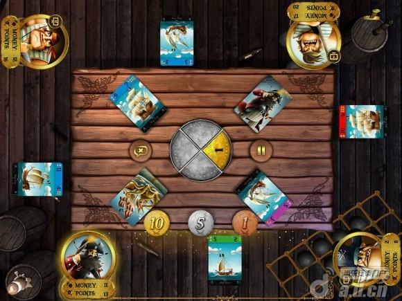 埃格蒙特:海盜(含資料包) Egmont: Pirates v1.0-Android棋牌游戏免費遊戲下載