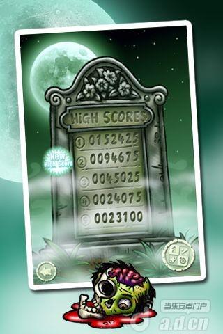 豪華彈球殭屍 Pinball Zombies Deluxe Game HD v1-Android益智休闲免費遊戲下載