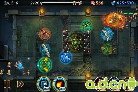 龍域守衛: 地下城 v1.2.7,Lair Defense : Dungeon