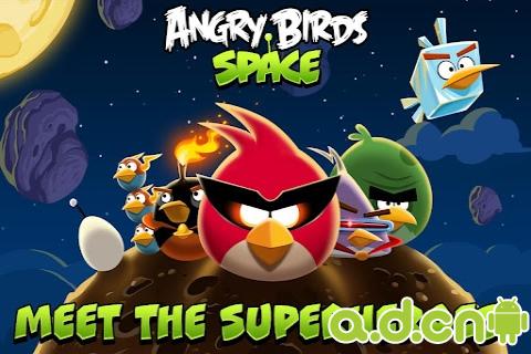 憤怒鳥太空版 Angry Birds Space v1.6.0-Android益智休闲免費遊戲下載