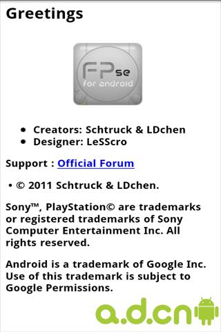 FPse PS模擬器 FPse v0.11.119-Android其他游戏類遊戲下載