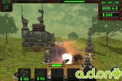 網路塔防戰 Tower Defense Cyber War v1.8-Android策略塔防類遊戲下載