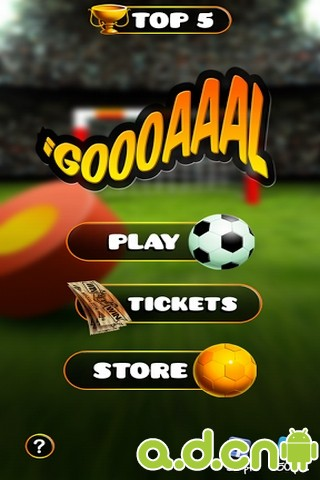 氣墊足球 v1.05,iGoooaaal – The Football Game