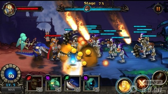 英雄防禦 修改版 Hero Defense : Kill Undead v1.1.4-Android策略塔防免費遊戲下載