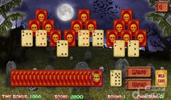 萬聖節紙牌 Halloween Tripeaks v1.0.15-Android棋牌游戏免費遊戲下載
