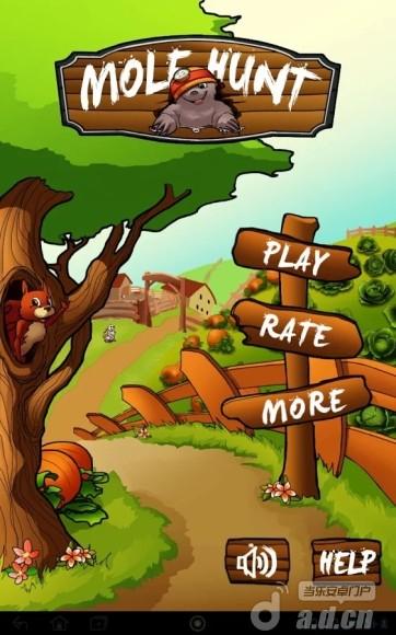 打地鼠 Mole Hunt v1.0.2-Android益智休闲類遊戲下載