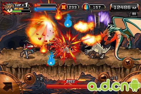 魔界忍者2:洞窟 Devil Ninja2:Cave v1.1.8-Android动作游戏類遊戲下載