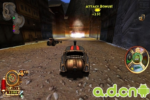 蒸汽朋克賽車 v2.0,Steampunk Racing 3D