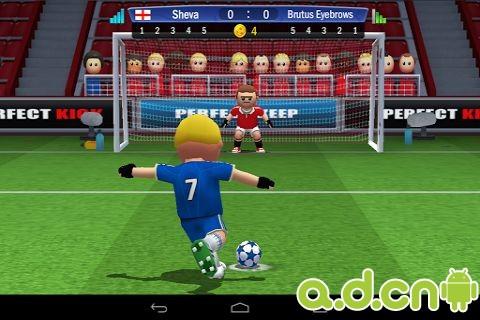 點球達人 Perfect Kick v1.1.2-Android体育运动類遊戲下載