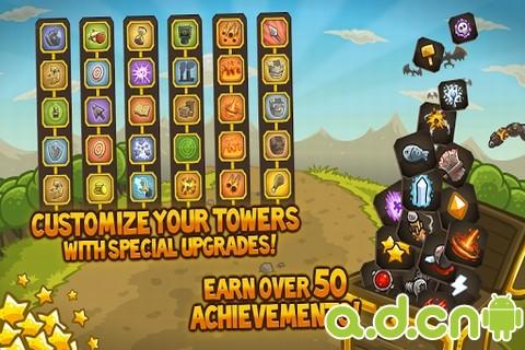 王國保衛戰(含數據包) Kingdom Rush v2.2-Android策略塔防類遊戲下載