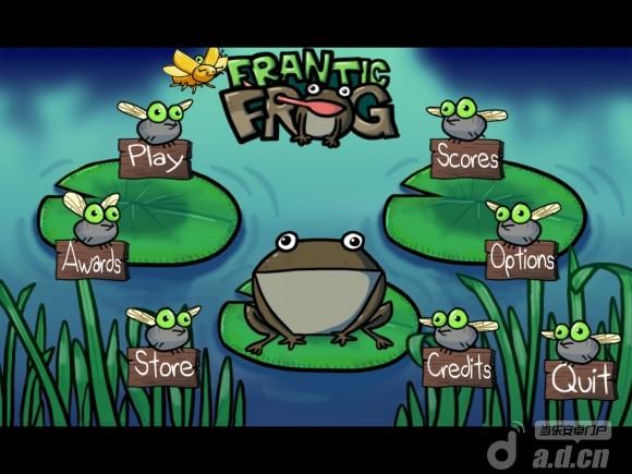 瘋狂青蛙 Frantic Frog Free v1.0-Android益智休闲遊戲下載
